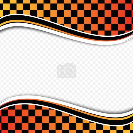 Checkered background (racing background).