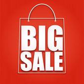 Big sale poster vector illustration for your design