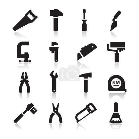 Photo for Tools Icons - Royalty Free Image