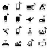 Sada ikon připojení