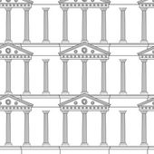 Antique colonnade pattern