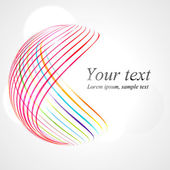 Abstract lines background Shape
