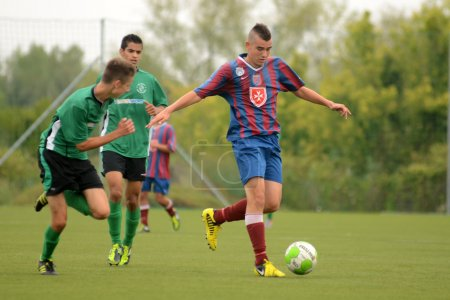 Kaposvar - Videoton under 18 soccer game