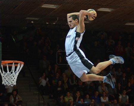 Face Team acrobatic basketball show