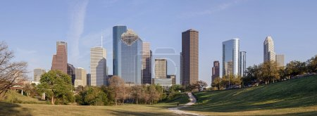 Photo for A Panorama View of Downtown Houston, Texas - Royalty Free Image