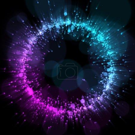 Photo pour Fond abstrait soirée disco. pour votre conception - image libre de droit