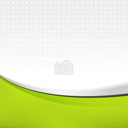 Illustration for Abstract background in green color - Royalty Free Image