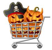 Halloween Shoppingcart