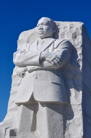 Martin Luther King Statue in