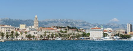 Photo pour Ville de split en Croatie - image libre de droit
