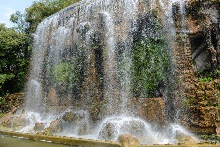 Castle Hill Waterfall in Nice France