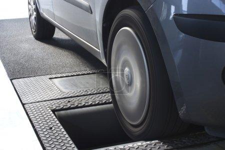 Roller brake tester
