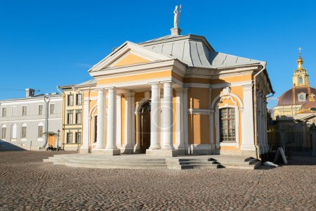 Peter and Paul Cathedral in Peter and Paul Fortress, Saint Petersburg, Russia