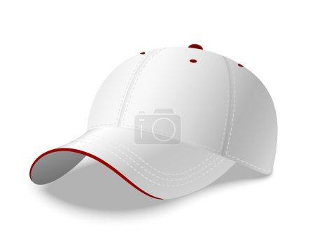 Illustration for Baseball Cap. Vector Illustration - Royalty Free Image