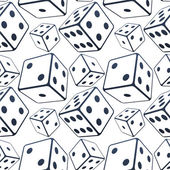 Seamless dices background