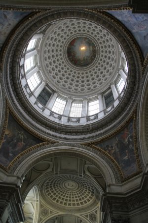 Inside the Pantheon, Paris