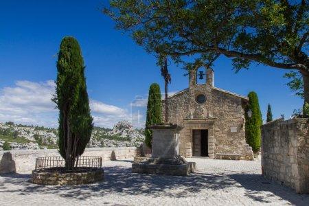 Small church in Les Baux De Provence