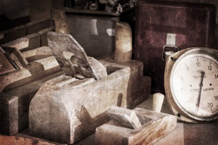 Old wooden jointers