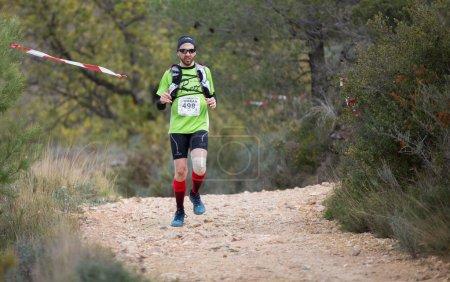 Hard mountain race