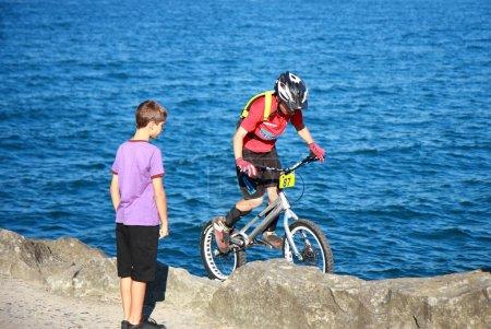 Bike trial championship