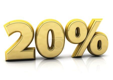 Twenty percent gold