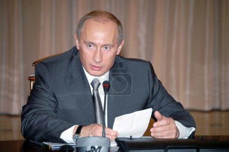 Photo pour Vladimir Poutine - Président de la Russie - image libre de droit