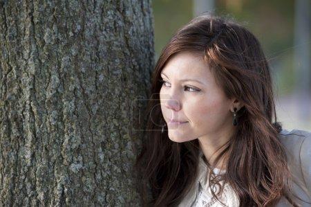 jolie femme brune