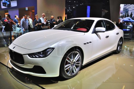 FRANKFURT SEPT 14 Maserati Ghibli