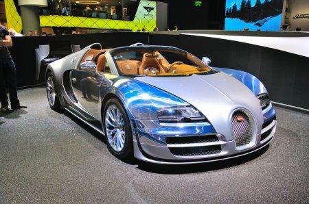 FRANKFURT SEPT 14 Bugatti Veyron