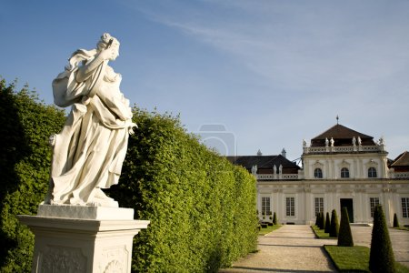 Vienna- park of Belvedere palace