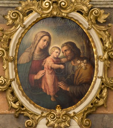 Photo for Holy Family from Vienna church - Royalty Free Image
