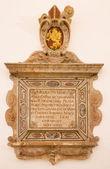 Bratislava, Slovensko - 11 února 2014: barokní epitaf z roku 1636 v st. ann gothic boční kapli v katedrále sv. martin