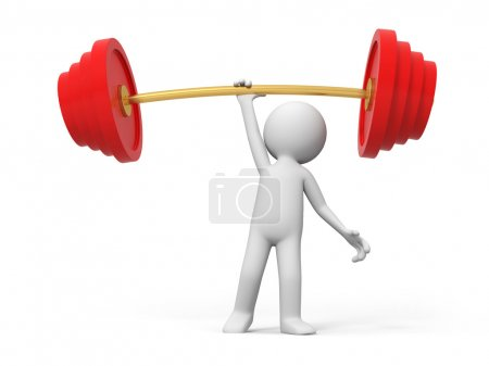 Photo for A lift the weight - Royalty Free Image