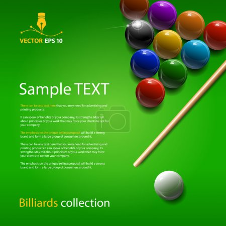 Billiards collection