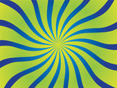 Vector poster background circus waves