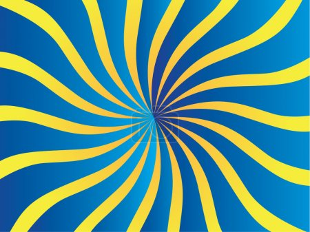 Vector poster background, circus waves