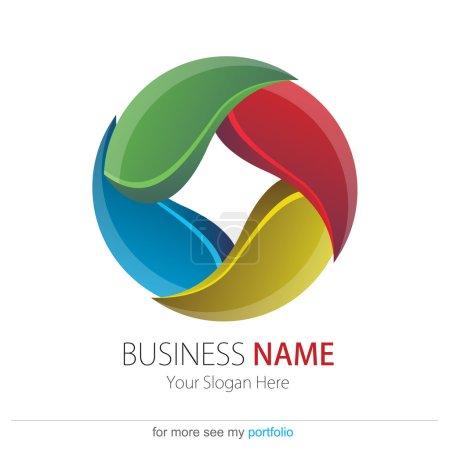 Company (Business) Logo Design, Vector, Circle