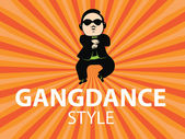 Gangdance stylevector