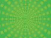 Vector Circus background square into a circle