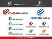 Company Logo Flame DesignVector