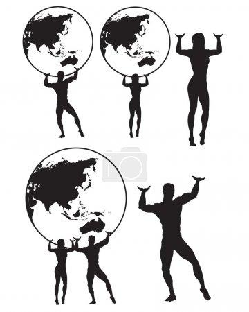 Atlas Silhouette