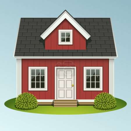 Illustration for Home icon - Royalty Free Image