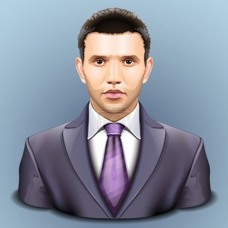 Illustration for Vector user icon - Royalty Free Image