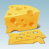 Cheese vector