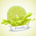 Juicy lime...
