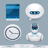 Multimedia devices and technology icon