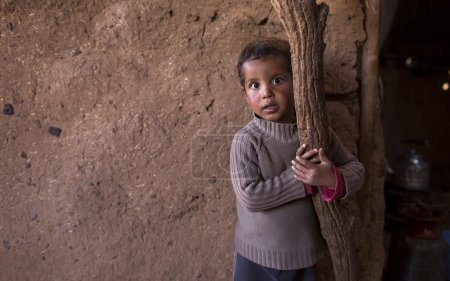 Documentary: Portrait of child muslim (of the nomadic people), M