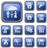 Insurance buttons