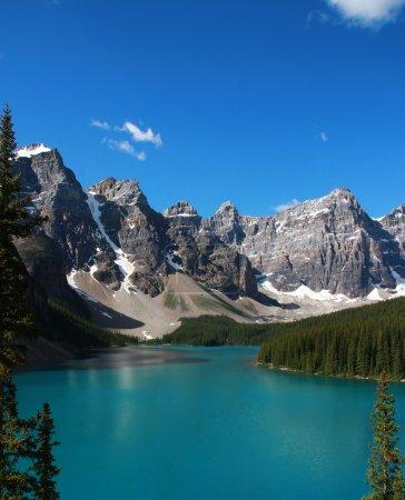 Photo pour Lac Moraine, Banff, Canada . - image libre de droit