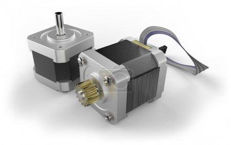 Stepper electric motor
